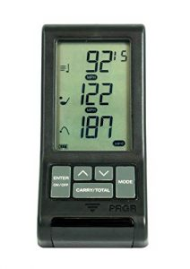 PRGR Black Pocket Launch Monitor