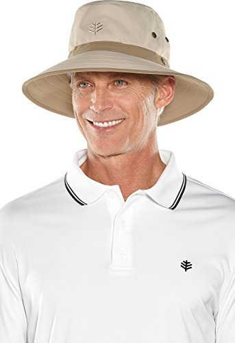 Coolibar UPF 50+ Men's Women's Matchplay Golf Hat
